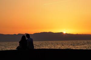 釣り体験はカップルで楽しく♪エサや釣竿も不要です!の画像