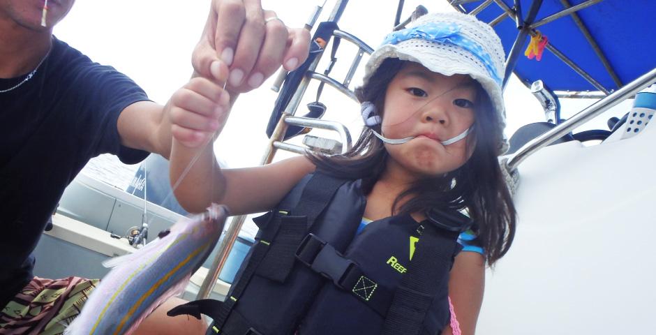 5歳から楽しめる釣り